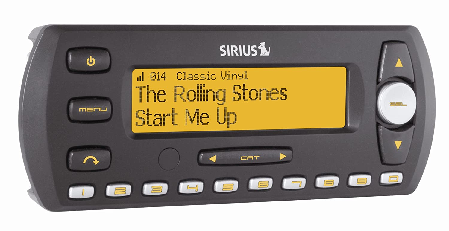 Sirius SV2-TK1 InV Satellite Radio with Car Kit (Discontinued by Manufacturer)