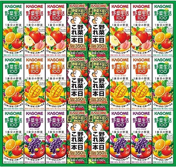 お歳暮 野菜ジュース 人気商品 カゴメ 野菜飲料 ギフト (KYJ-30R 24本)