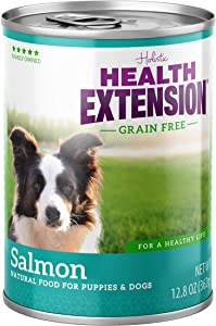 Health Extension Grain Free Salmon Entree Canned Wet Dog Food - (12) 12.8 Oz Cans