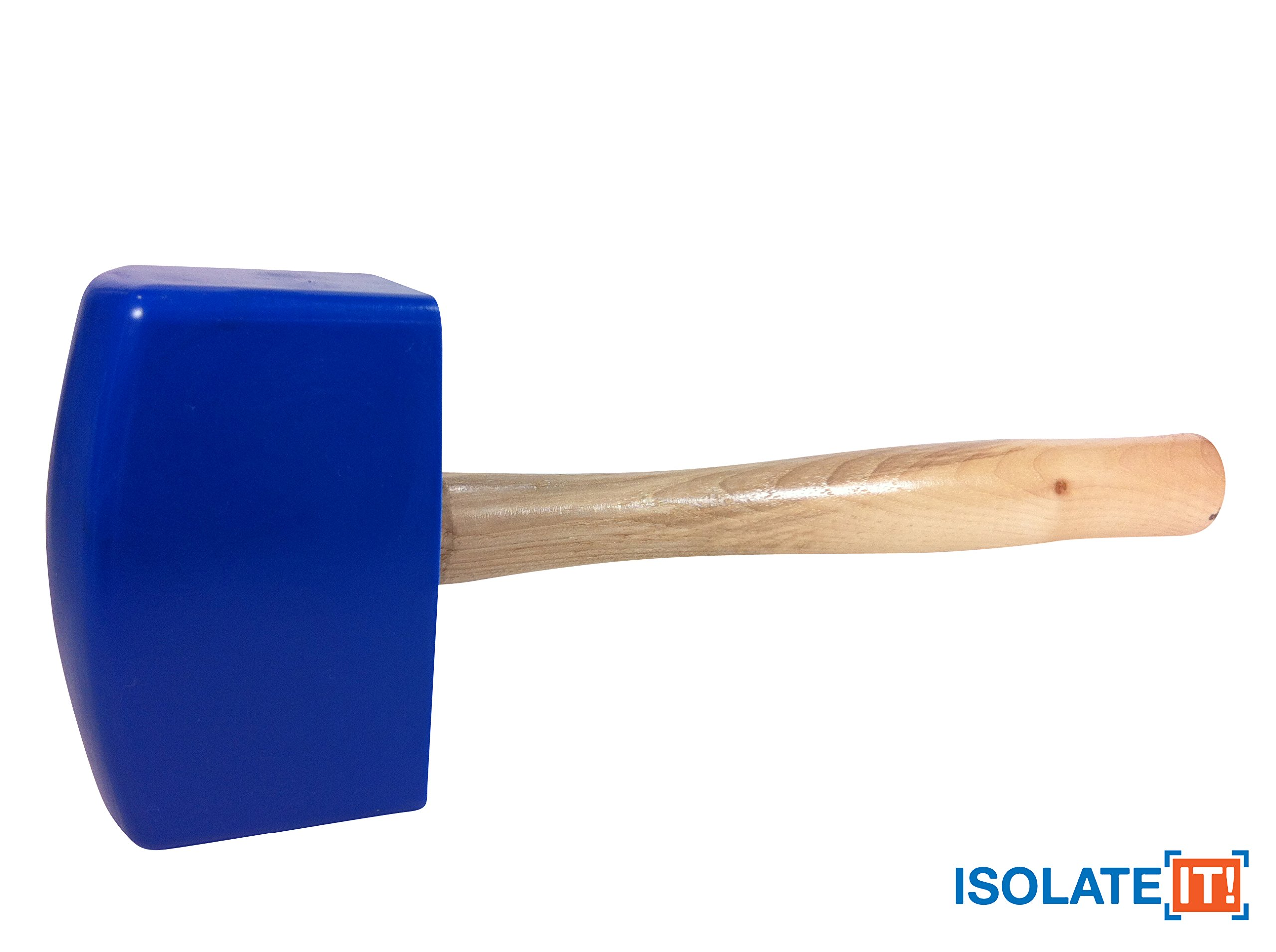 Isolate It!: Sorbothane Soft-blow Mallet for Automotive, Cabinetry, Carpentry and Glass Work - Large 20oz by Isolate It! (Image #2)
