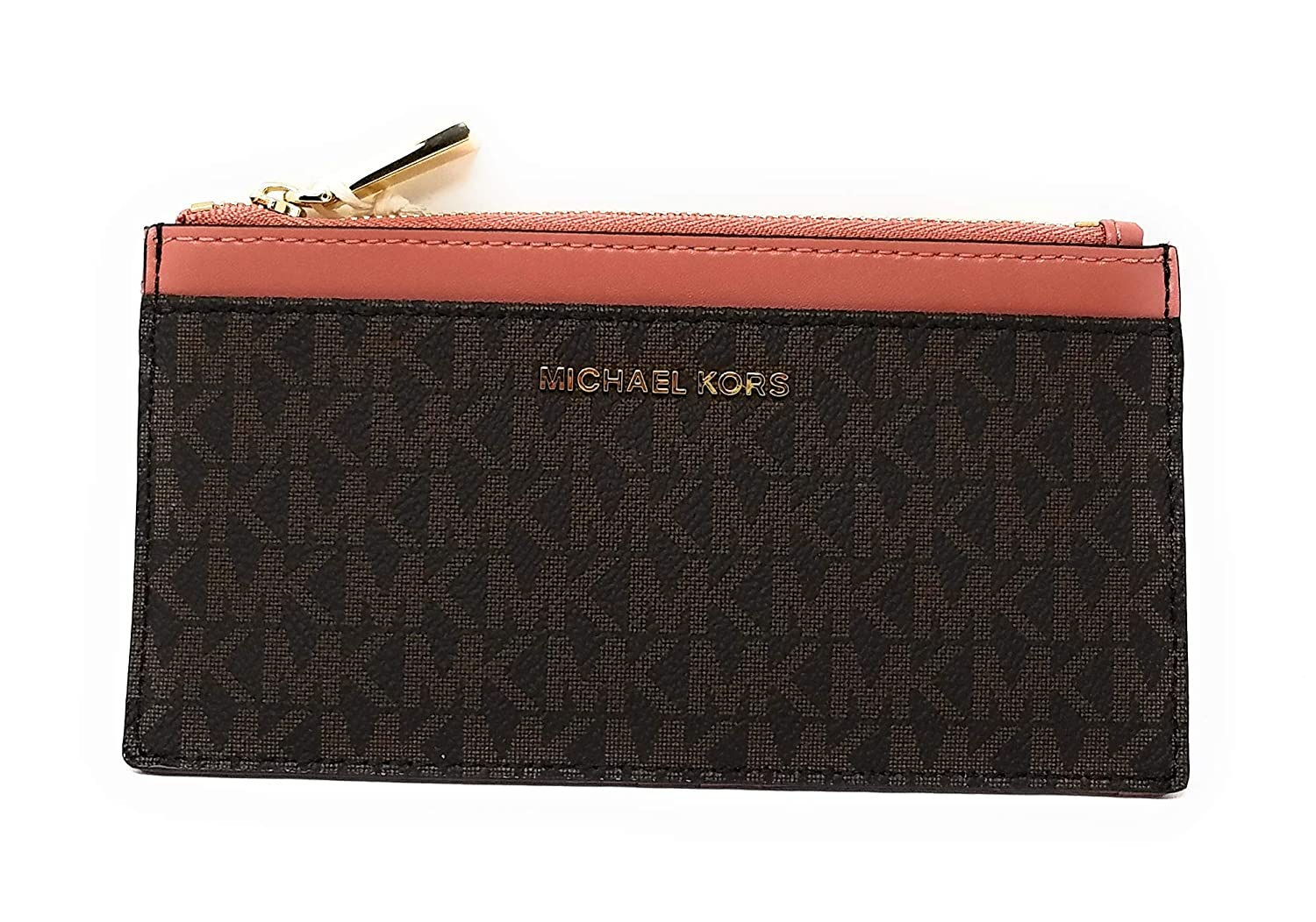 newest f64c1 67e78 Michael Kors Money Pieces Lg Slim Card Case in Rose at Amazon ...