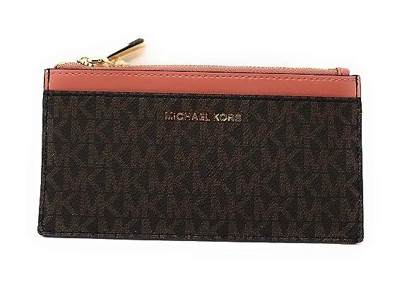 0c1c8daa9482f Michael Kors Money Pieces Lg Slim Card Case in Rose at Amazon Women s  Clothing store