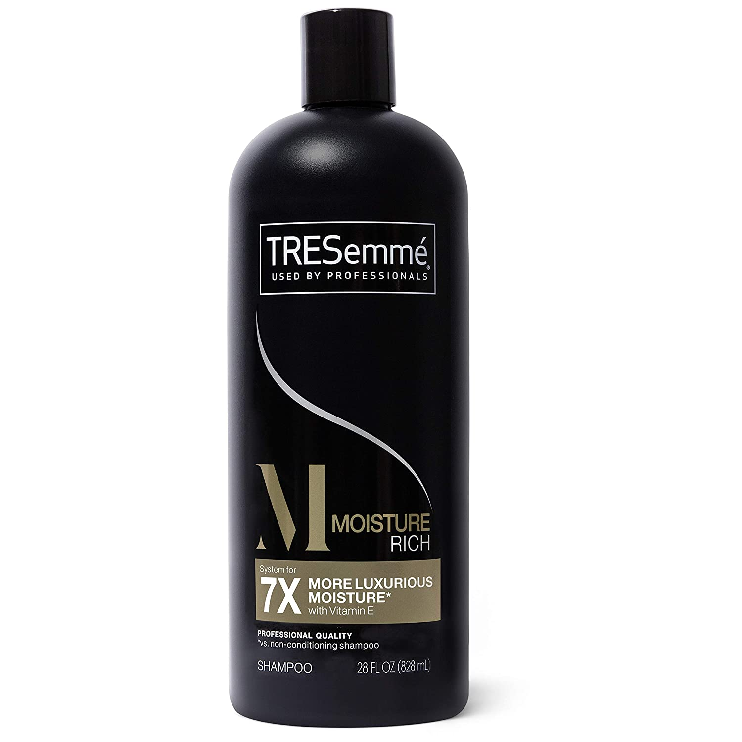 Amazon Com Tresemme Rich Moisture Shampoo For Dry Hair Rich Moisture Professional Quality Salon Healthy Look And Shine Moisture Rich Formulated With Vitamin E And Biotin 28 Oz Prime Pantry
