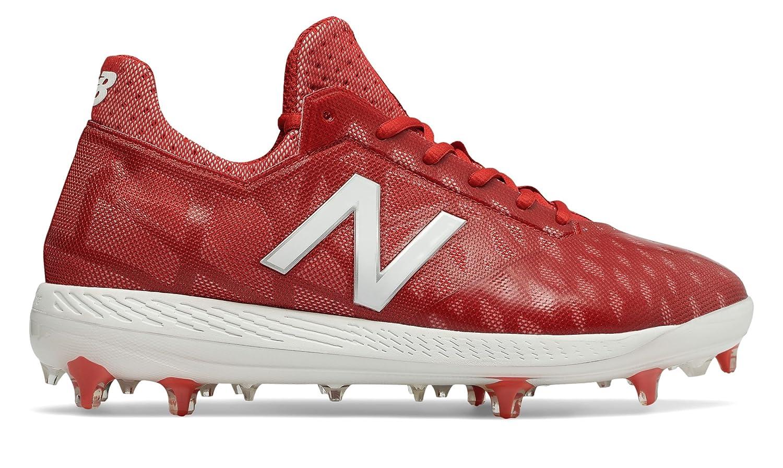 (ニューバランス) New Balance 靴シューズ メンズ野球 NB COMP Red with White レッド ホワイト US 9 (27cm) B078V56RM1