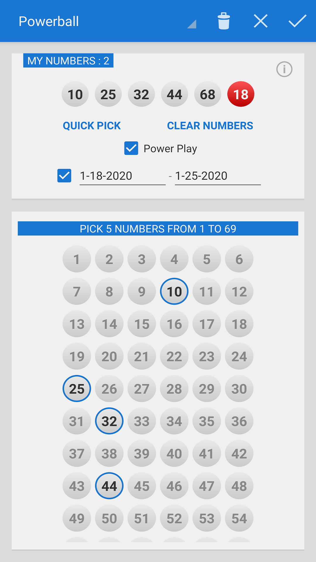 Amazon Com Mega Millions Powerball Appstore For Android