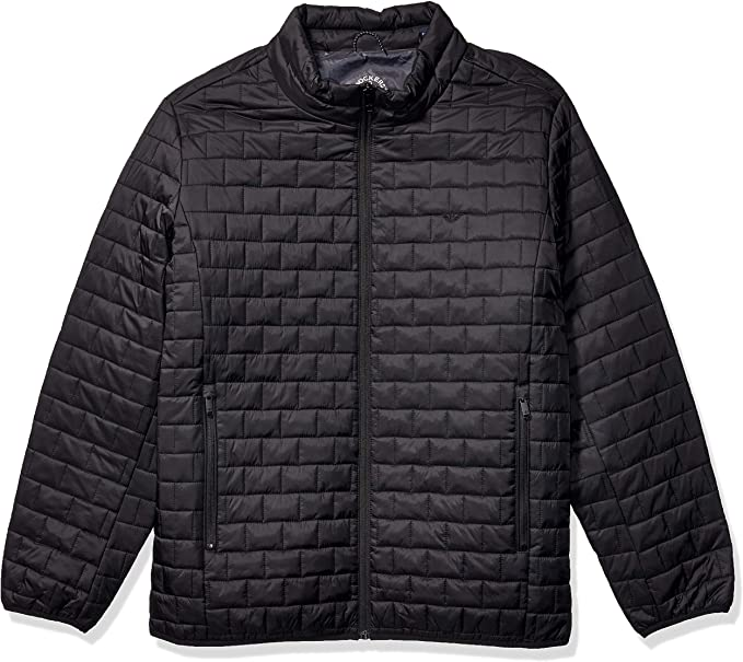 Dockers Mens The Connor Lightweight Ultra Loft Quilted Packable Jacket