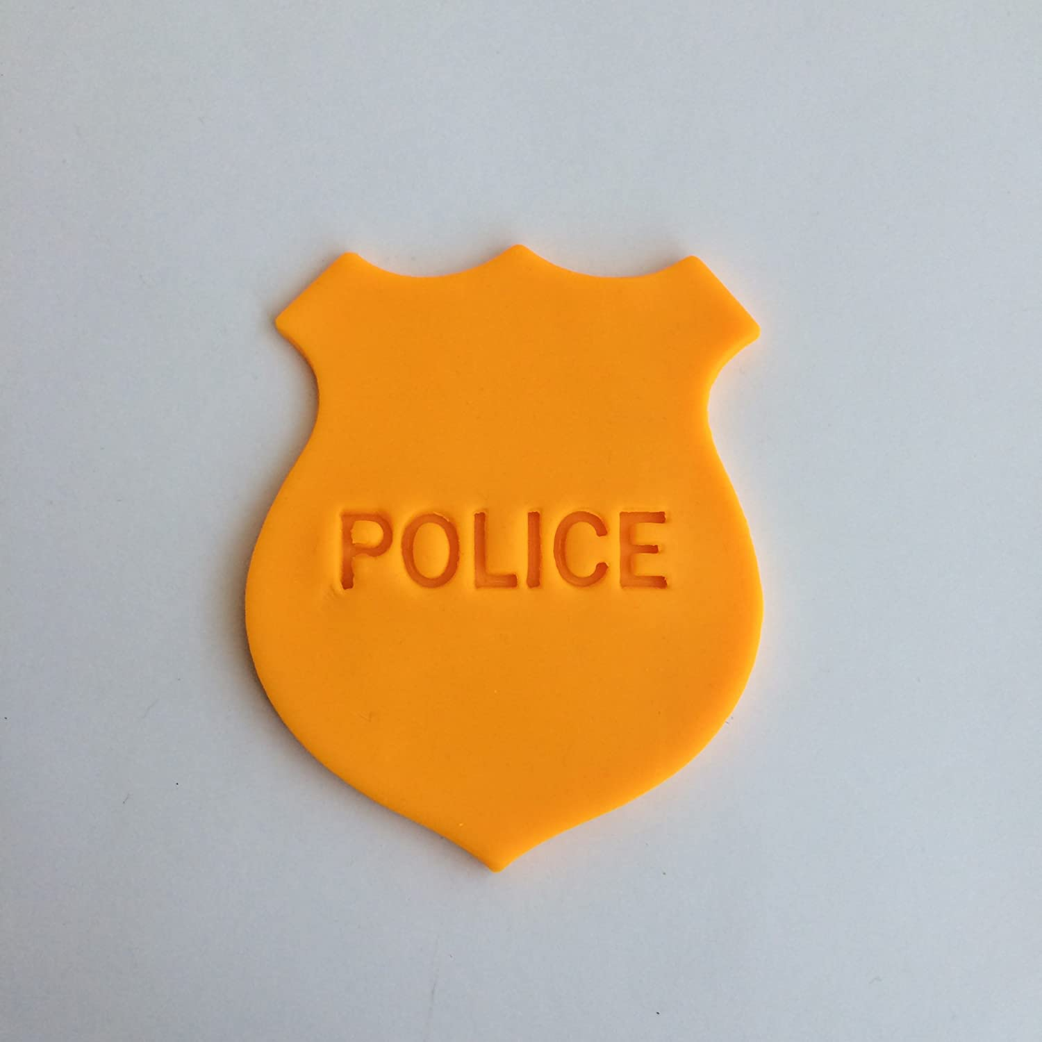 Police Badge 102 Cookie Cutter and Stamp