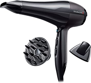 Asciugacapelli professionale remington ac5999 pro-air ac flusso d'aria: 130 km/h, 2300w, nero