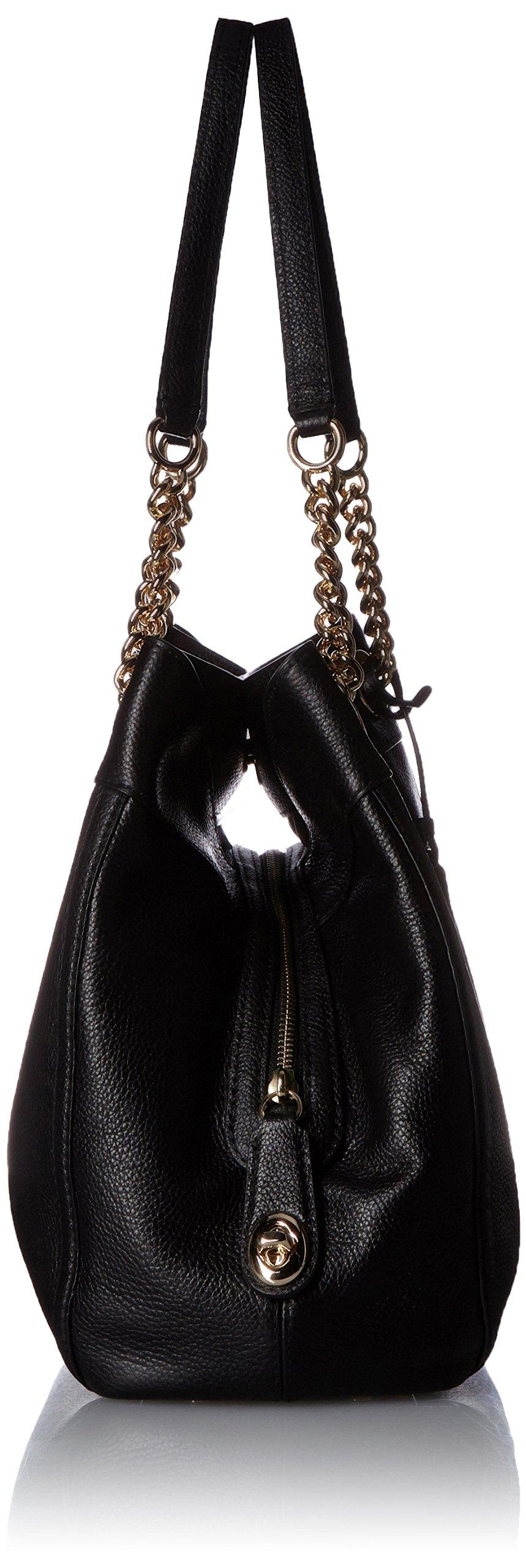 COACH Women's Turnlock Edie LI/Black Shoulder Bag by Coach (Image #3)