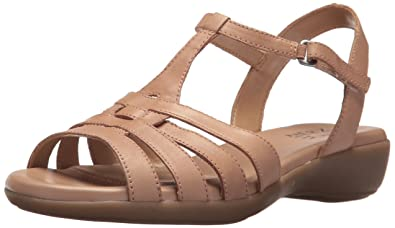 5888fe44ae63c Naturalizer Women s Nanci Flat Sandal  Amazon.co.uk  Shoes   Bags
