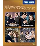 TCM Greatest Classic Legends: Cary Grant (Mr. Blandings Builds His Dream House / My Favorite Wife / Night and Day / The…