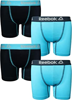 Reebok Boys Performance Boxer Briefs Underwear (4 Pack)