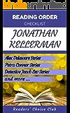 Reading order checklist: Jonathan Kellerman - Series read order: Alex Delaware Series, Petra Connor Series and more! (English Edition)