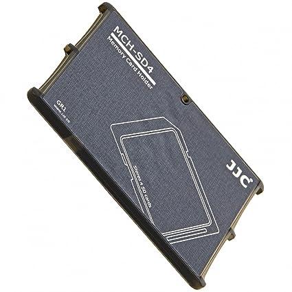 Tarjetas de memoria muy compacto Funda Caja en formato de tarjeta de crédito para 4 x