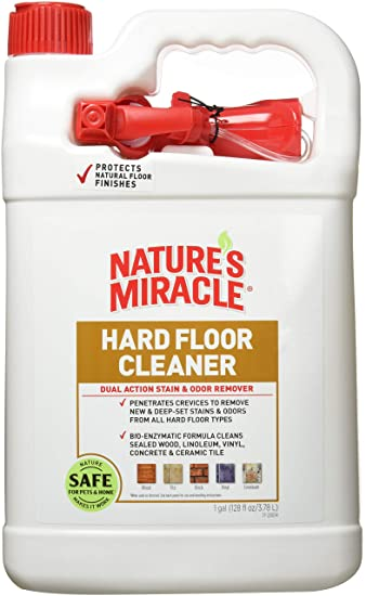 Nature's Miracle Hard Floor Cleaner, 1 Gallon