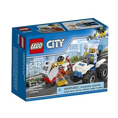 LEGO City Police ATV Arrest 60135 Building Kit: Toys & Games
