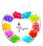 200pcs 10-Color Locking Stitch Markers for Crochet and Knitting