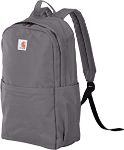 Carhartt Trade Plus Backpack with 15-Inch Laptop Compartment, Grey