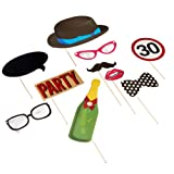 Ginger Ray 30.Geburtstag Party Photo Booth Requisiten - Photo Booth Angebot