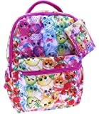 Shopkins 16 Backpack with Zipper Case