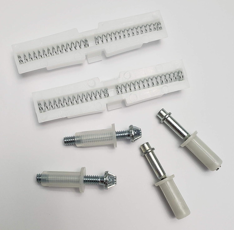 New Life Products 9-1141-S Bi-Fold Door//Closet Door Repair Kit Wide bi-fold Door Track for 7//8 in