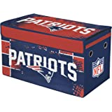 NFL New England Patriots Collapsible Storage Trunk