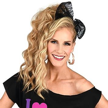Amazon.com  80 s Lace Headband  Beauty ca913b956b8