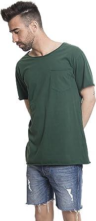 Camiseta Manga Corta Lavada a la Piedra Verde. (XL): Amazon.es: Ropa y accesorios