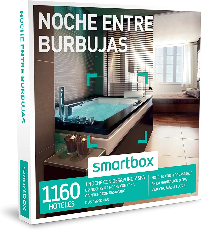 SMARTBOX - Caja Regalo - NOCHE ENTRE BURBUJAS - 1160 hoteles con hidromasaje en la habitación o spa y mucho más a elegir: Amazon.es: Deportes y aire libre