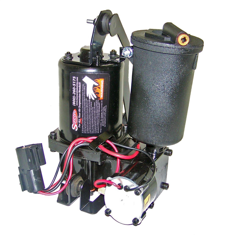 Suncore 40F-20 Suspension Air Compressor w/Dryer Vibration Isolators 1 Outlet Horizontal Suspension Air Compressor