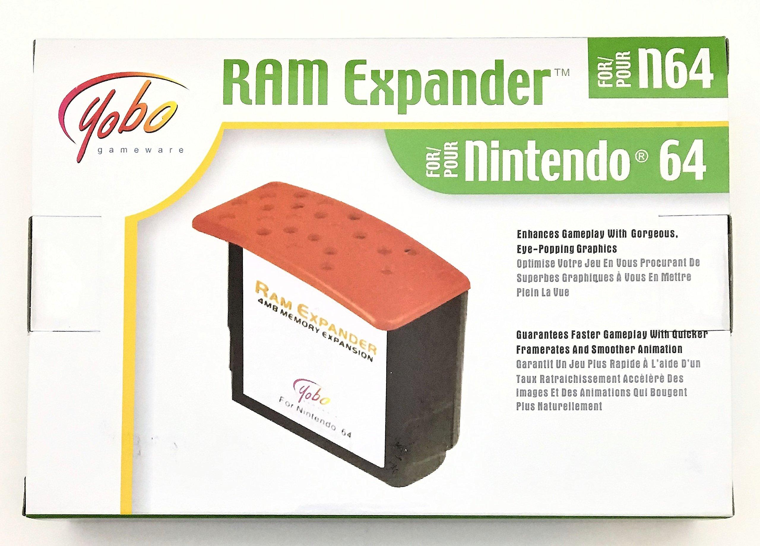 N64 RAM Expander - Expansion Pak Upgrade for Nintendo 64