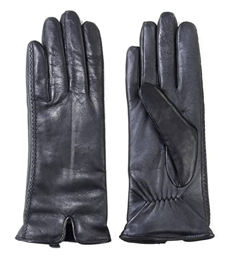 198c8fcd68801 Image Unavailable. Image not available for. Color: Fownes Brothers Women's Leather  Gloves (Black ...