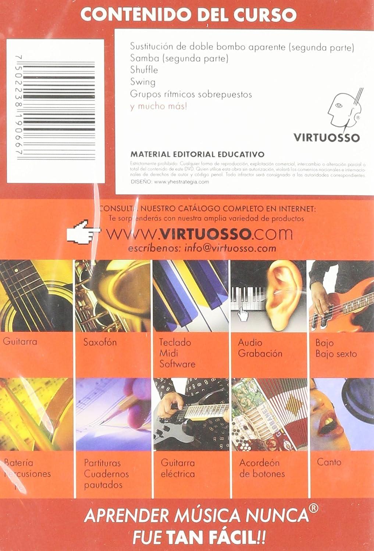Amazon.com: Virtuosso Drum Method Vol.3 (Curso De Batería Vol.3) SPANISH ONLY: Musical Instruments