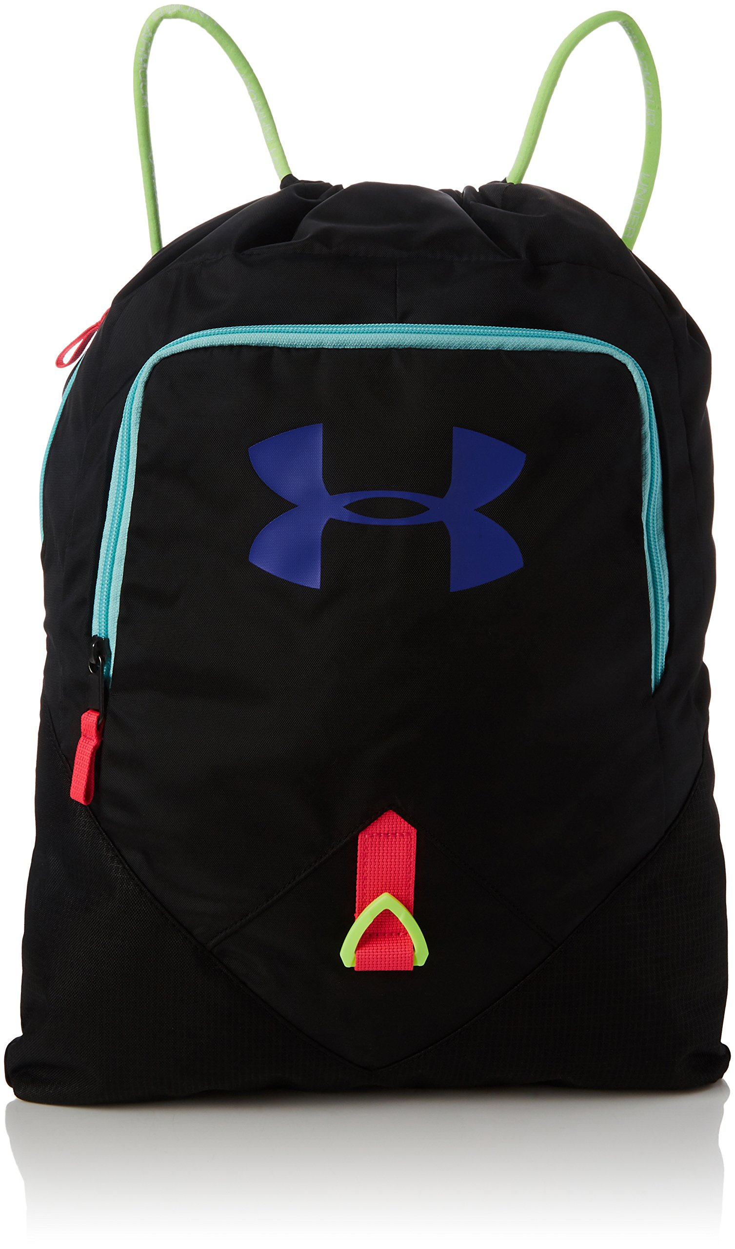 Under Armour Unisex UA Undeniable Sackpack Black/Constellation Purple/Quirky Lime Duffel