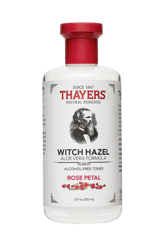 Thayer - Witch Hazel Toner-Rose Petal Alc.Fr, 12 fl oz liquid Thayers 646562 masatomo-6966803