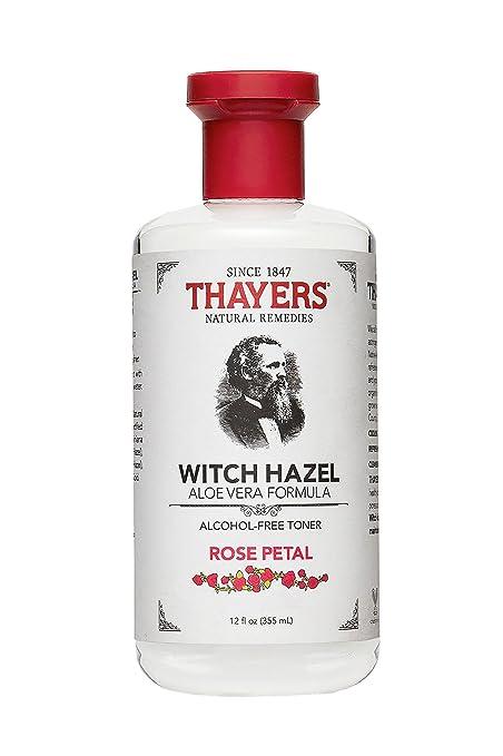 Thayer   Witch Hazel Toner Rose Petal Alc.Fr, 12 Fl Oz Liquid by Thayers