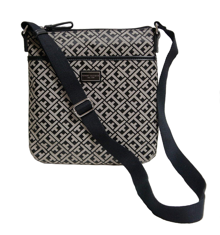 e2cfd97e016 Tommy Hilfiger Women's/Girl's Xbody/Crossbody Handbag, Black Logo: Handbags:  Amazon.com