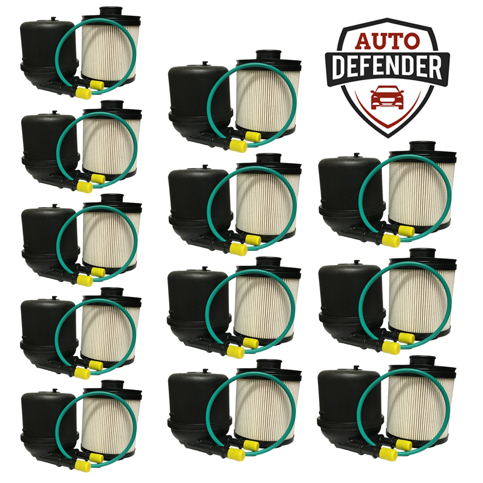 Auto Defender DF4615-AD Fuel Filter (12) by Auto Defender