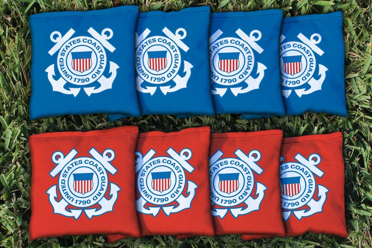 Victory Tailgate 8 US Coast Guard Regulation All Weather Cornhole Bags by Victory Tailgate
