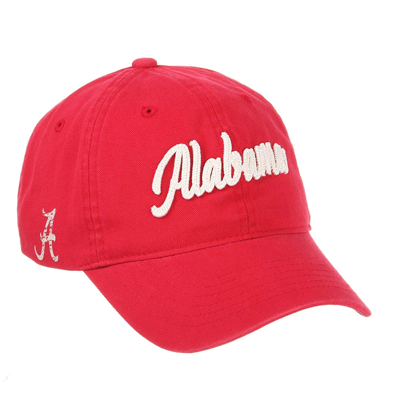 Zephyr 公式NCAAスクロール調節可能な帽子キャップ  Adjustable