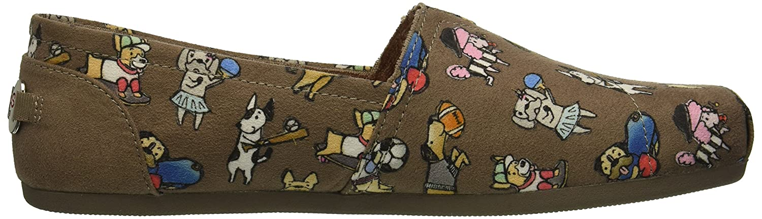 Skechers BOBS from Women's Bobs Plush-Go Fetch Ballet Flat B078Y4GDCD 7 B(M) US|Tpe
