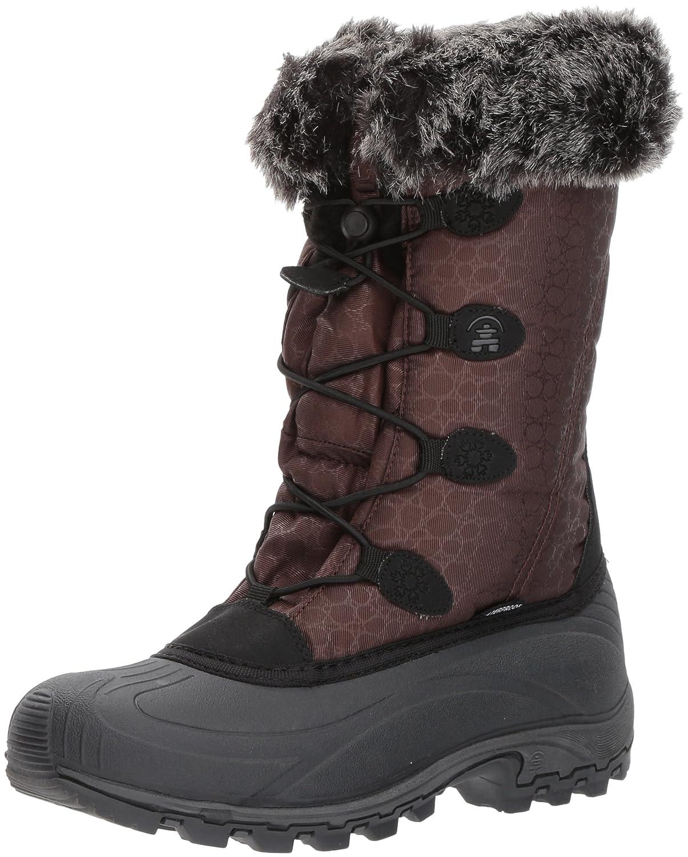 Kamik Women's Momentum Snow Boot B01N7N4V6Y 7 B(M) US|Chocolate