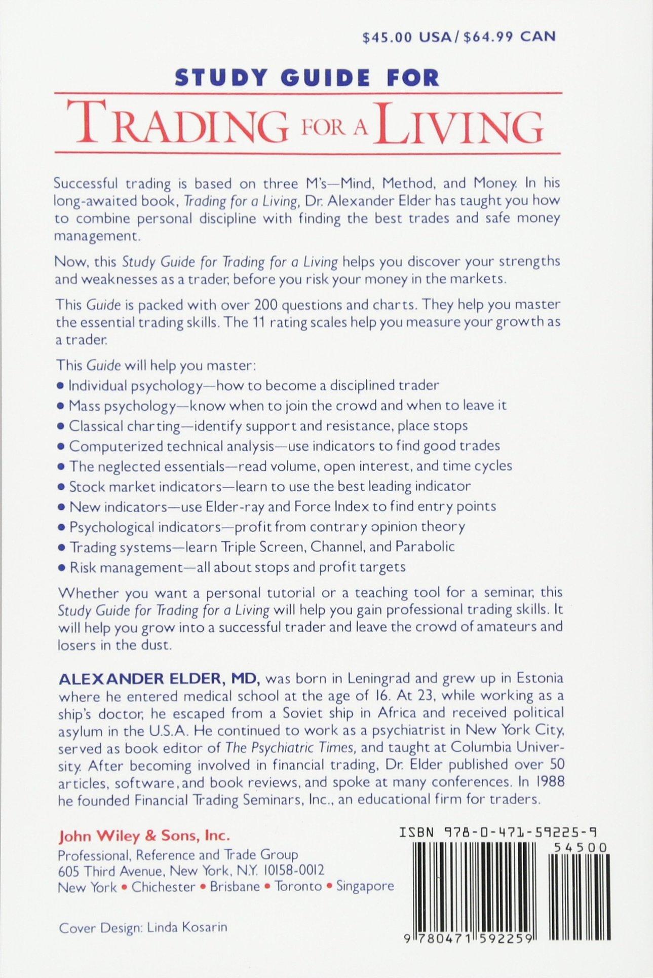 Trading For A Living Alexander Elder Pdf