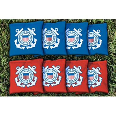 Victory Tailgate NCAA Regulation Cornhole Game Bag Set (8 Bags Included, All Weather-Filled)