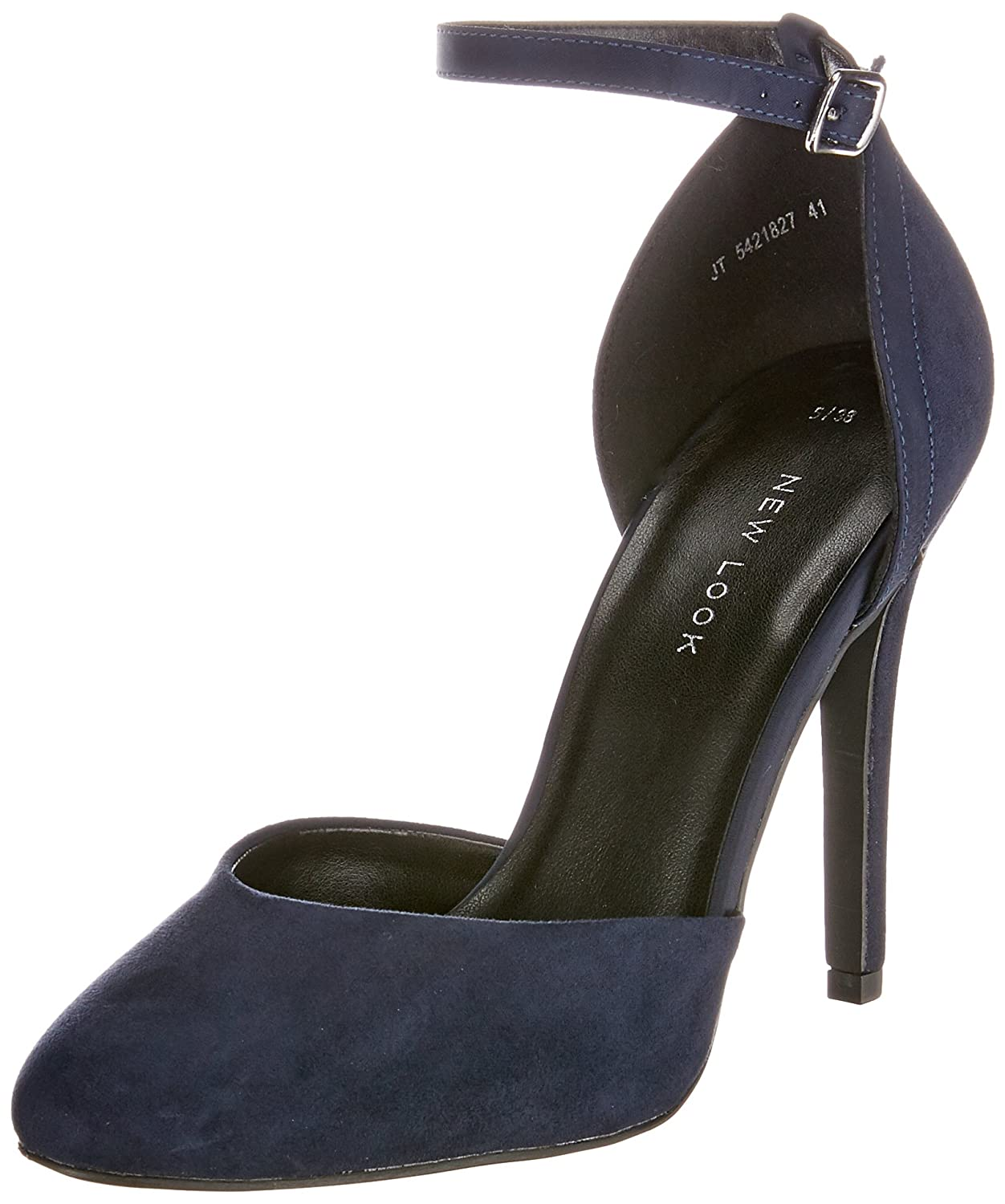 New Look Vacate, Mary Jane Donna  Blu (Navy 41)