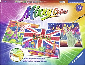 Ravensburger 29491 Weltstadte Mixxy Colors Maxi Malsets Amazon