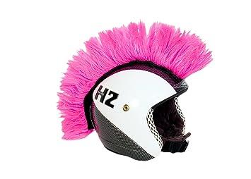 Cresta fluor adhesiva para el casco. Accesorio: Amazon.es ...