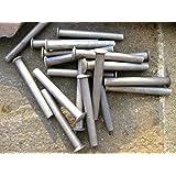 5 x Rivets for shovel spade fork handle repair 50x6mm rake hoe garden lawnmower