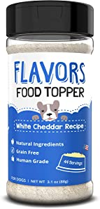 Flavors Food Topper and Gravy for Dogs - Natural, Human Grade, Grain Free - Perfect Kibble Seasoning and Hydrating Treat Mix for Picky Dog or Puppy