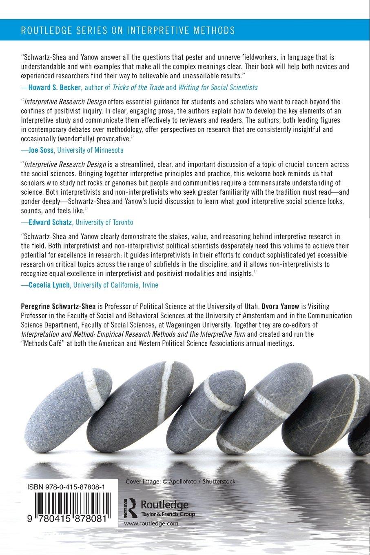 Interpretive Research Design (Routledge Series On Interpretive t sBPL X